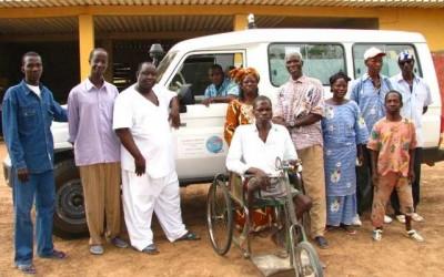 Spendenbeitrag zum Kauf des Krankenwagens der Gesundheitsstation in Mankoina